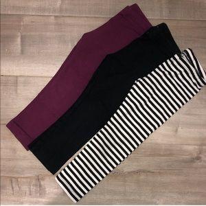 Play condition leggings bundle 3T